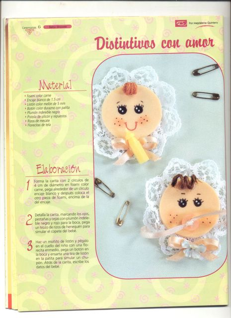 Ideas bautizo y baby shower | Angeles Manualidades