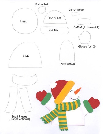 Moldes de Navidad | Angeles Manualidades
