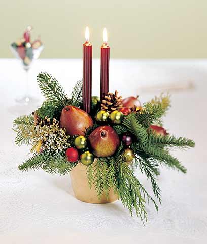 Ideas centro de mesa navide o angeles manualidades - Como hacer un centro de mesa navideno ...