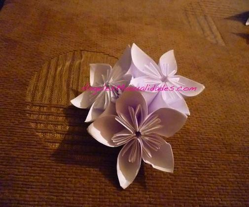Flor para el árbol de navidad: Paso 11